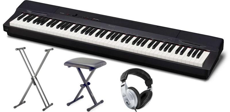 Panoul de control al pianului este intuitiv
